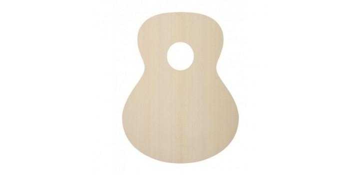 Tapa guitarra clásica abeto alemán especial